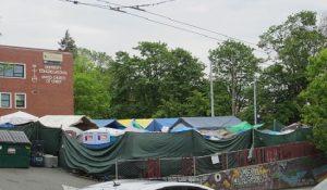 15th Ave NE and NE 45th, Tent City 3