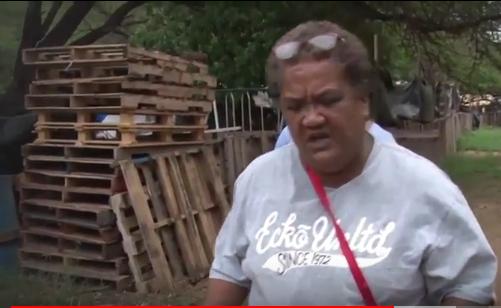 BBC visit Pu'uhonua O'Wai'anae village
