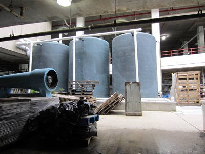 Greywater recycling system, UDC