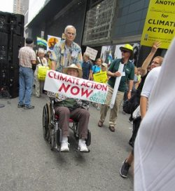 Peoples Climate March NYC Sept 21, 2014 photo by CHW