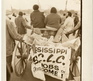 Mule cart, 1968 PPC, DC Public Library Special Collections, reprinted with permission