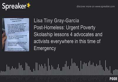 Tiny Gray-Garcia shares new poem