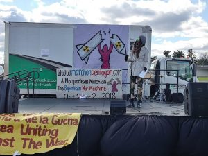 Jana Indigo of Black Alliance for Peace