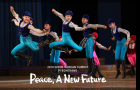 North Korean children perform at school children palace