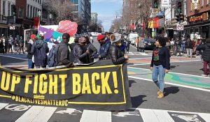 BLM DC denounces huge DC police militarization