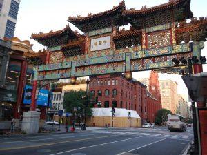 Chinatown DC Friendship Arch
