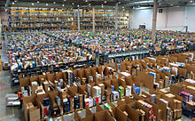 Amazon fulfillment center in Spain