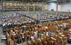 Amazon fulfillment center in Spain
