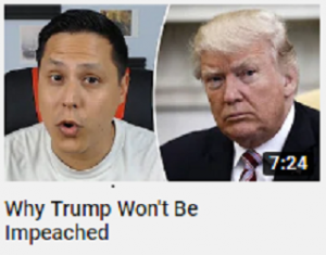 https://youtu.be/LGPk2i3KkBM Why Trump won't be impeached (10/02/19)
