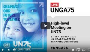 #ShapingOurFuture Conference UN75