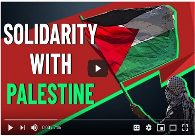 Solidarity with Palestine forever