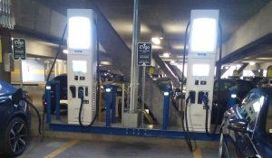EVgo Fast DC charging with CCS and CHAdeMO connectors